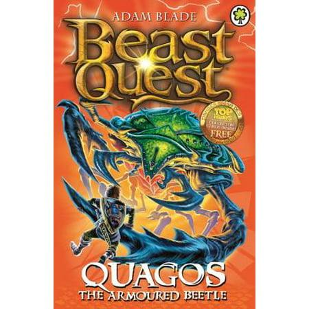 Beast Quest: 86: Quagos the Armoured Beetle (Sea Quest Adam Blade)