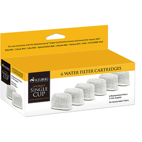 Keurig Water Filter Refills, 6-Pack