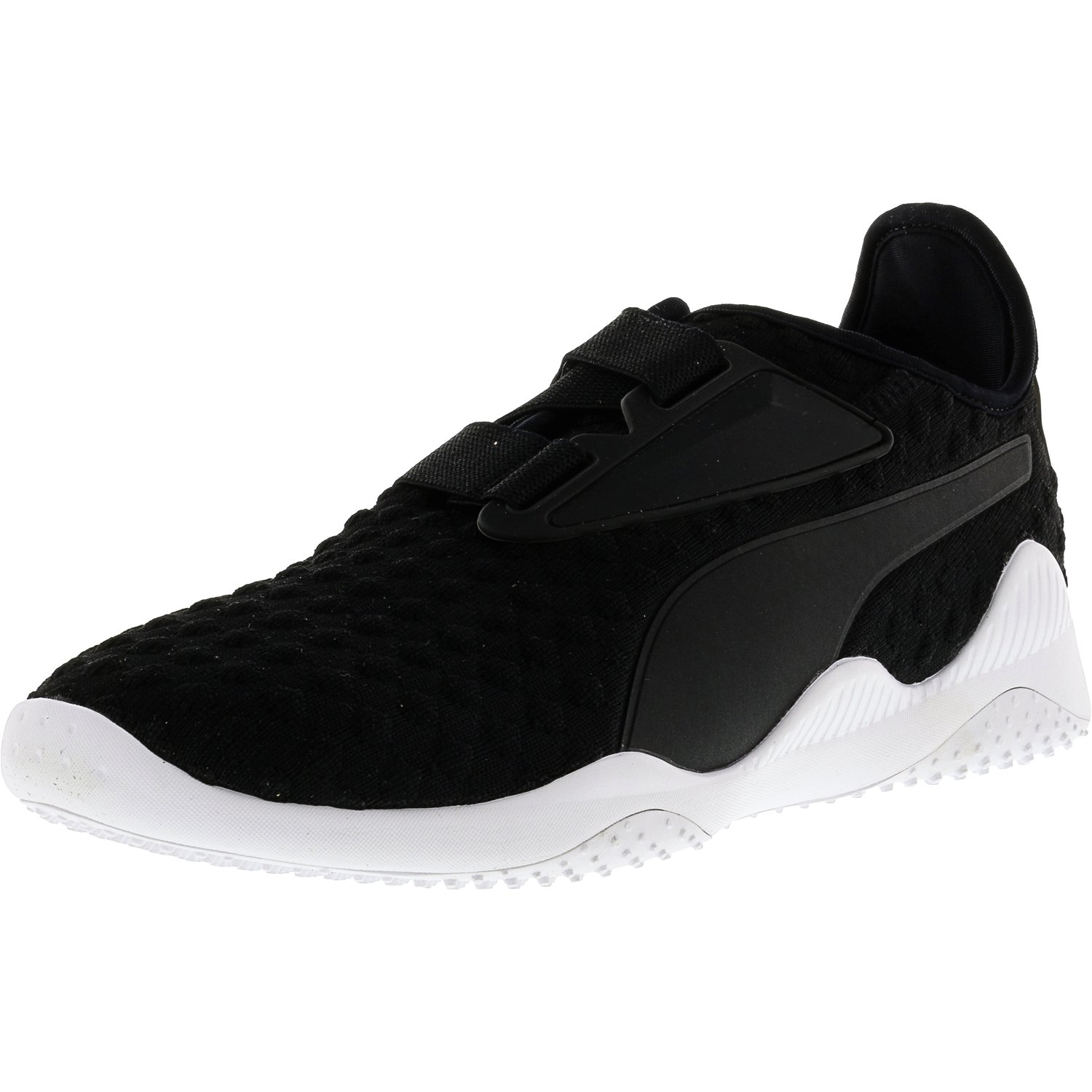 Puma Men's Mostro Bubble Knit Black   White Ankle-High Running Shoe 10M by Puma