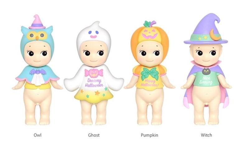 Sonny Angel Japanese Style Mini Figure Halloween 2015 Series Set of 12 Toys