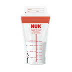 NUK® Simply Natural™ Seal n' Go® Breast Milk Bags, 25CT