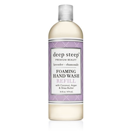 Wash Refills Specially Designed Foaming (Deep Steep Foaming Hand Wash Refill, Lavender Chamomile, 16)
