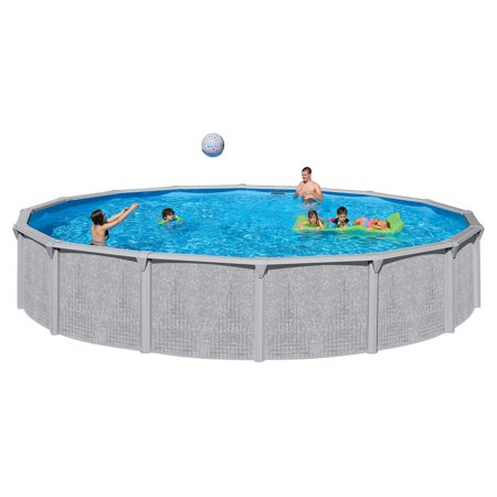 Heritage 18 39 x 52 illusion steel wall above ground - Walmart above ground swimming pools ...