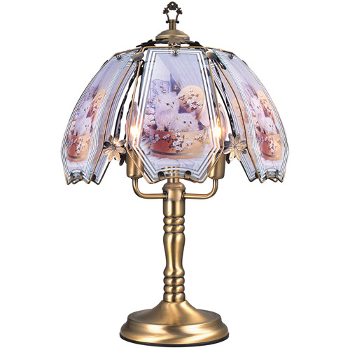 "ORE International 23.5"" Cats Touch Lamp"
