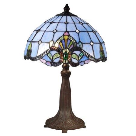 Lamps Dale Tiffany Fabric (Dale Tiffany Blue Baroque Table Lamp )