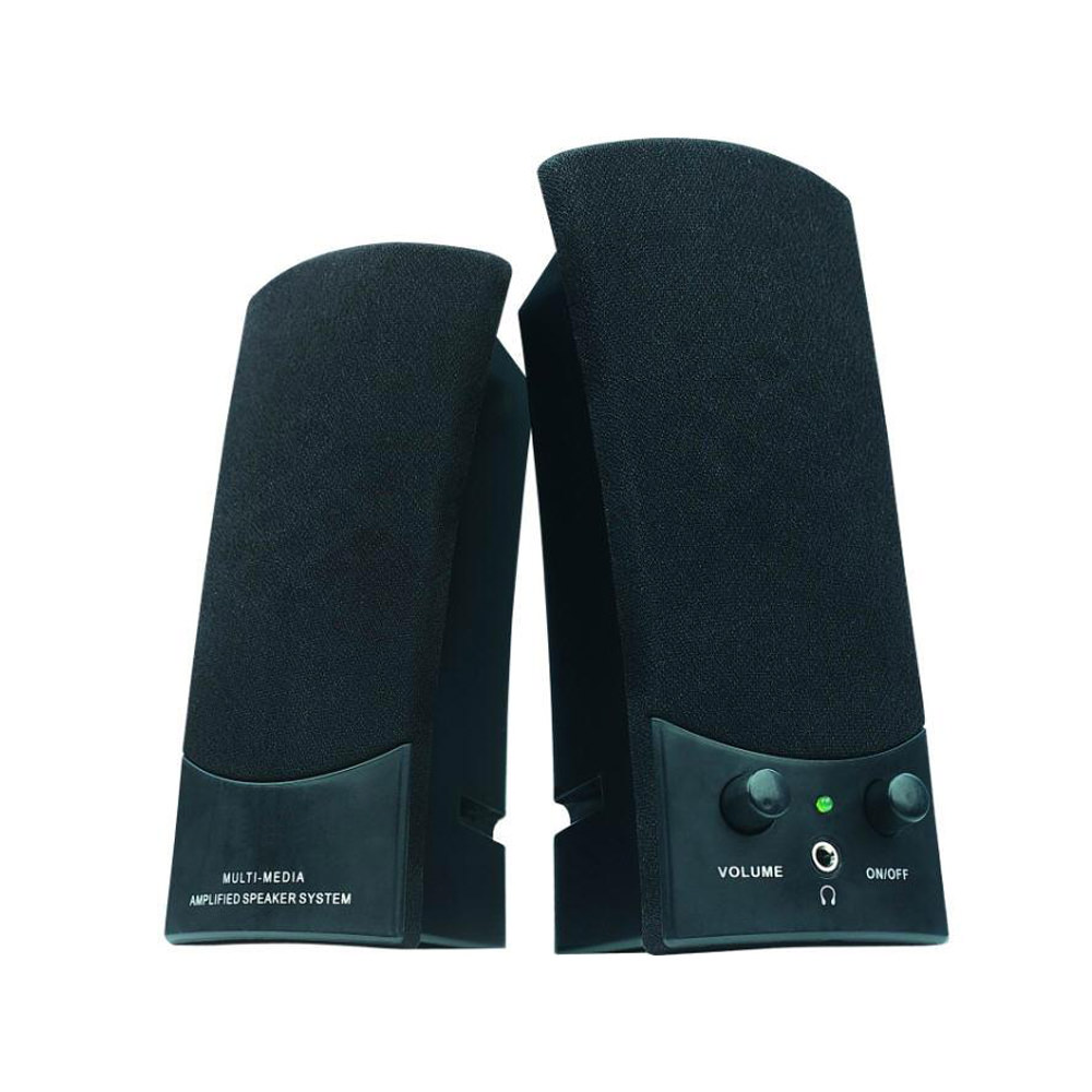 Inland Products 3.5 mm Stereo Speakers - USB Powered
