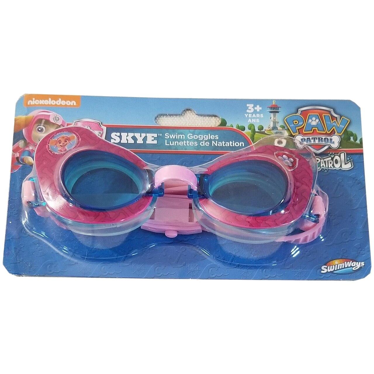 PAW PATROL Kids Swimming Goggles Boys Girls Summer Beach Pool Play Junior Gift