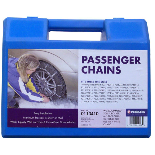 Peerless Passenger Car Tire Chains, #113410 by Peerless