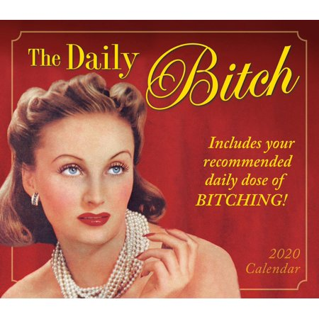 2020 the Daily Bitch Boxed Daily Calendar: By Sellers Publishing (Other) Box Desk Calendar