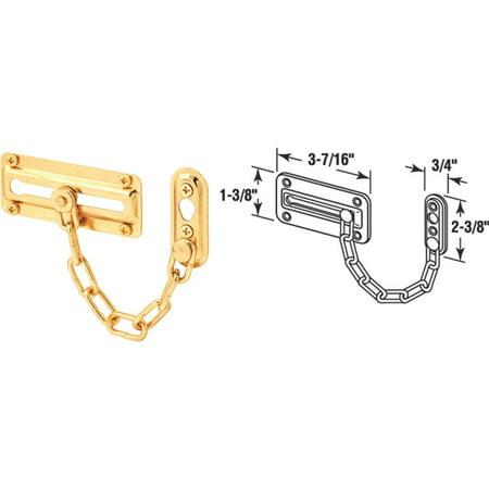 Prime Line Prod. Brs Chain Door Guard U 9905