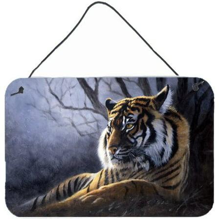 Baxter Canvas Painting (Caroline's Treasures Bengal Tiger by Daphne Baxter Painting Print)
