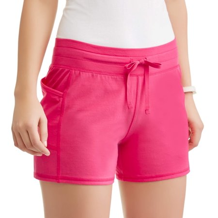 Athletic Works Womens Core Active Performance Short With Media Pocket