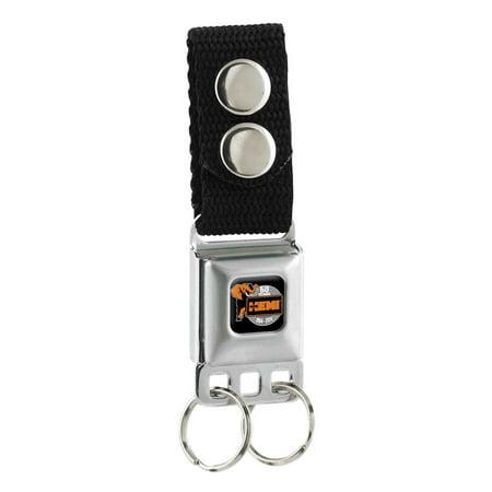 Chrysler Automobile Company Orange Hemi Elephant Key Chain