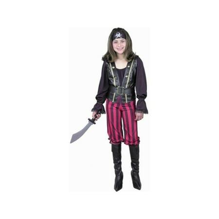 Child's Pirate Queen Costume - Queen Pirate Costume