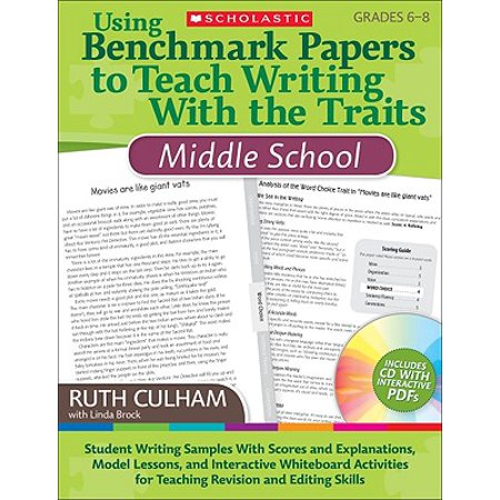 Using Benchmark Papers to Teach Writing with the Traits: Middle School : Grades - Halloween Writing Paper First Grade