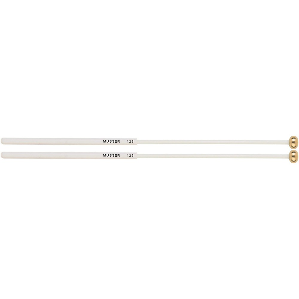 Musser Keyboard Brass Bell Mallets with Two Step Handle MUS122 by Musser