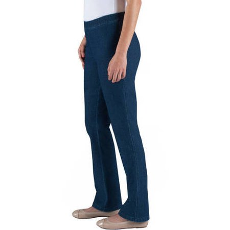 c124d0a9648 RealSize - Womens 2 Pocket Stretch Bootcut Pull-On Pants - Walmart.com