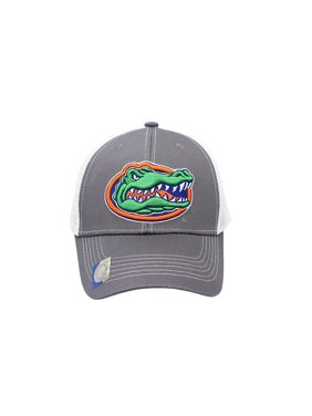 65719ec23cc Product Image Collegiate Headwear Men s Florida Gators Embroidered Grey  Ghost Mesh Back Cap By Captivating Headgear