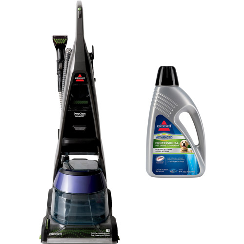 Bissell DeepClean Deluxe Pet Upright Deep Cleaner with Your Choice of Cleaning Solution