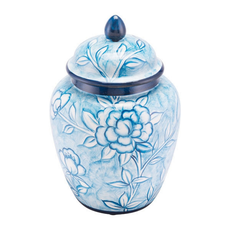 Decorative Jars For Kitchen Bathroom Home Decor Jars Small Blue And