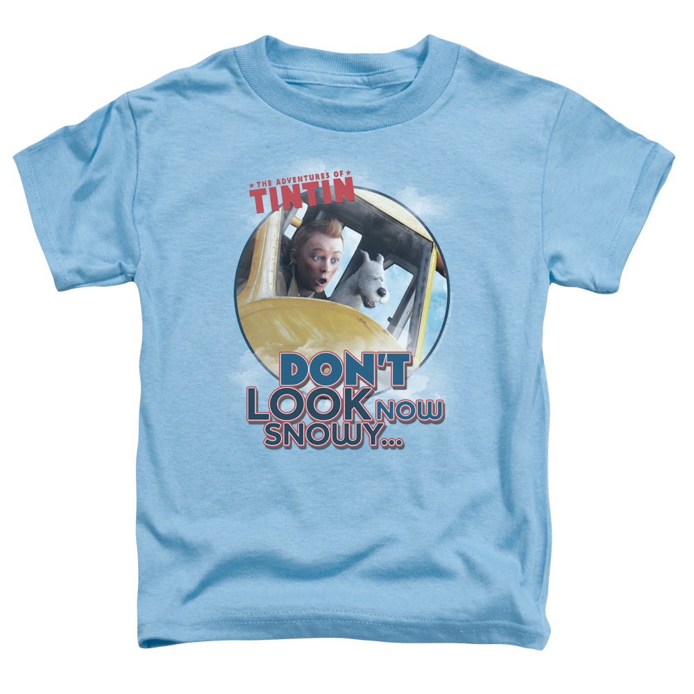 Tintin Don't Look Now Little Boys Toddler Shirt