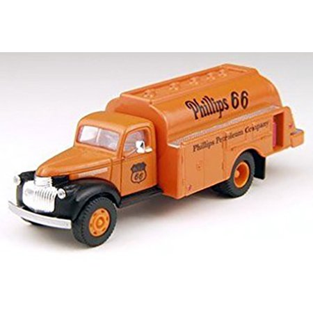 Classic Metal Works Ho Scale Vehicle 1941 1946 Chevy Oil Tanker Truck Phillips