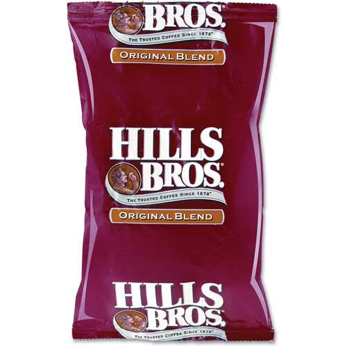 Hills Bros. Original Blend Ground Coffee, 2.25 oz, 24 count