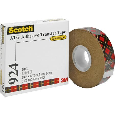 Mmmatg700 Adhesive Transfer Tape Applicator (3M #924 Adhesive Transfer Tape, 3/4