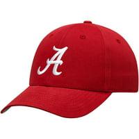 Youth Crimson Alabama Crimson Tide Team Basic Adjustable Hat - OSFA