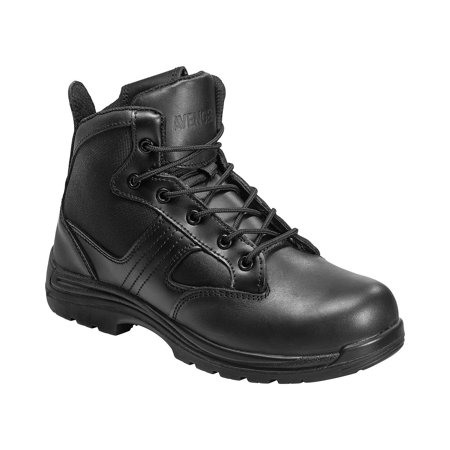 Avenger Men's Side-Zip Work Boot Composite Toe -