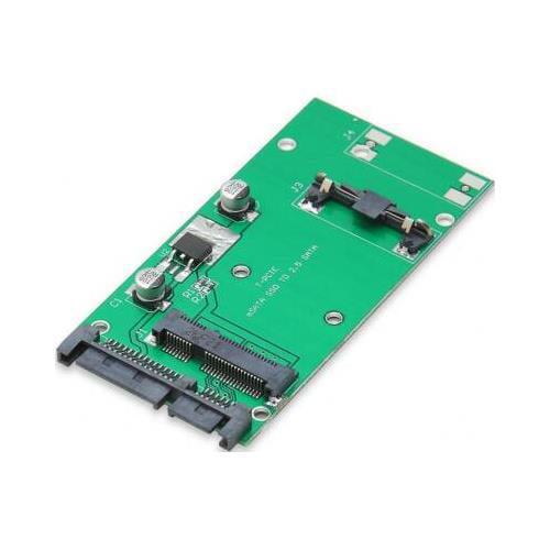 """SYBA SI-ADA40066 50mm (1.8"""") mSATA SSD to 2.5"""" SATA Converter Adapter"""