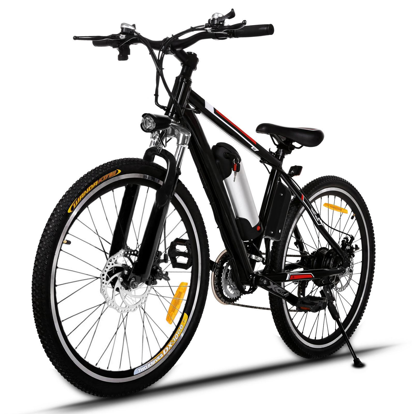 ANCHEER E-bike Electric Mountain Bike with 36V, 8AH Removable Lithium-Ion Battery 250W Electric Bike for Adults with Battery Charger