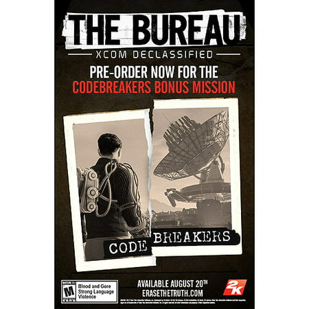 the bureau xcom declassified ps3. Black Bedroom Furniture Sets. Home Design Ideas