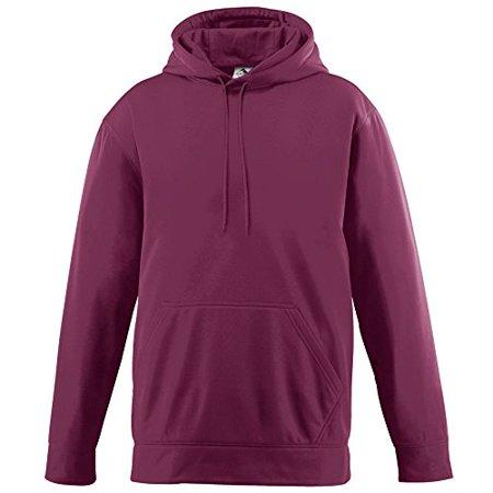 Men's Wicking Fleece Hooded Sweatshirt 2XL Maroon