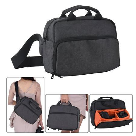 Camera Bag Waterproof DSLR Shoulder Bag with USB External Charging Port for Canon Nikon Sony Camera Accessories Laptops Tablets Big Size