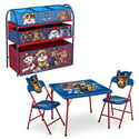 Delta Children Nick Jr. Paw Patrol 4-Piece Toddler Playroom Set