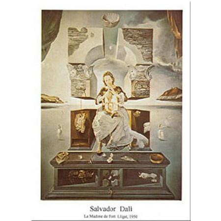 Madonna Di Port Lligat by Salvador Dali 20x16 Art Print Poster