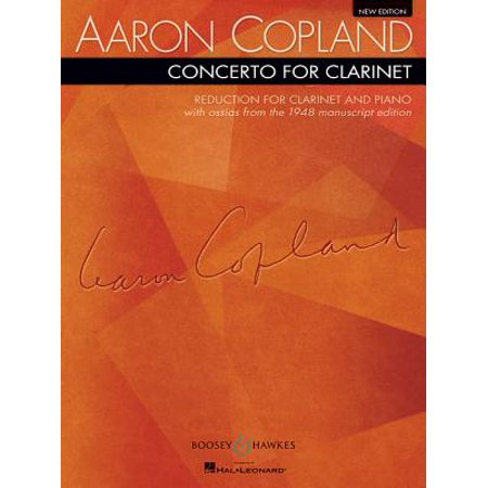 Concerto for Clarinet : Reduction for Clarinet and Piano New Edition
