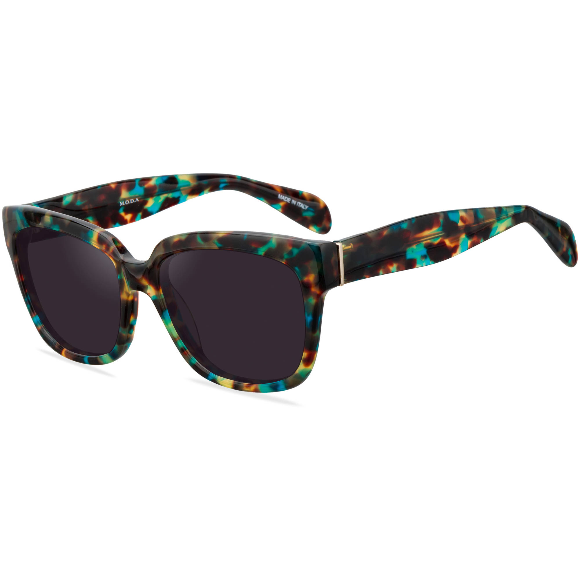 M.O.D.A. Womens Prescription Sunglasses, 101 Multi-Colored Tortoise - Walmart.com | Tuggl