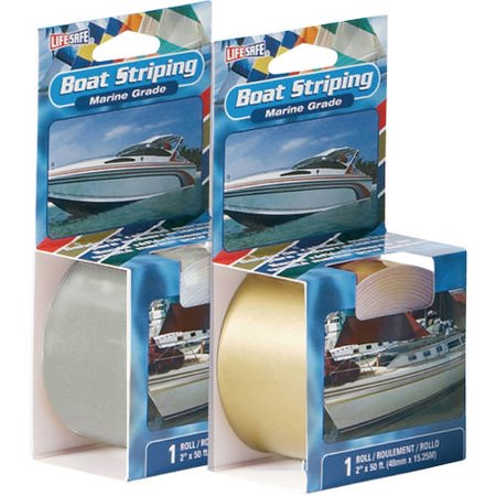 Life safe marine grade boat striping tape 50 39 for Fish tape walmart