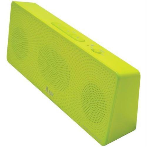 Iluv Isp202grnn Mobitour Portable Bluetooth Stereo Speaker - green