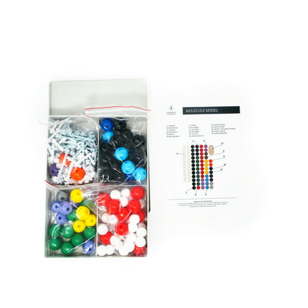 239 PC. Molecular Model Kit for Organic Chemistry 86 Atoms and 153 Bonds by Trademark Scientific (Molecular Model Kit Hgs)