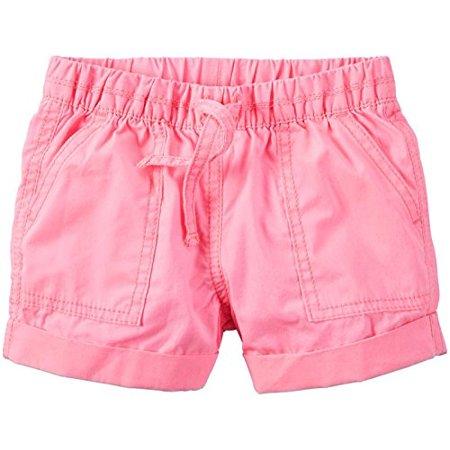 Big Girls' Woven Dress Shorts, Bright Pink, 8-Kids Big Kids Light Pink Apparel