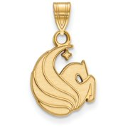 Central Florida Small (1/2 Inch) Pendant (Gold Plated)