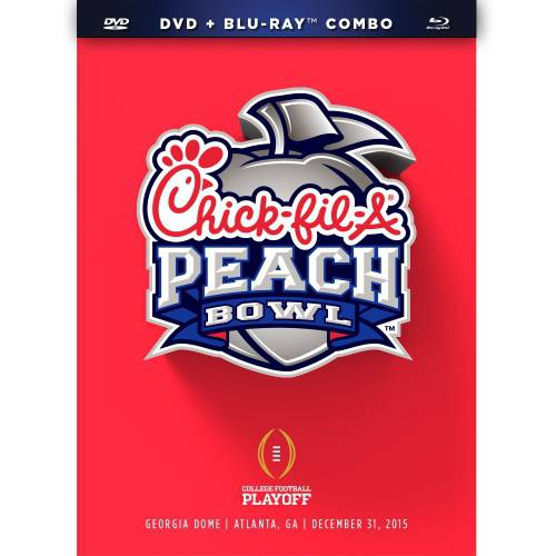 2016 Chick-fil-A Peach Bowl (Blu-ray + DVD)