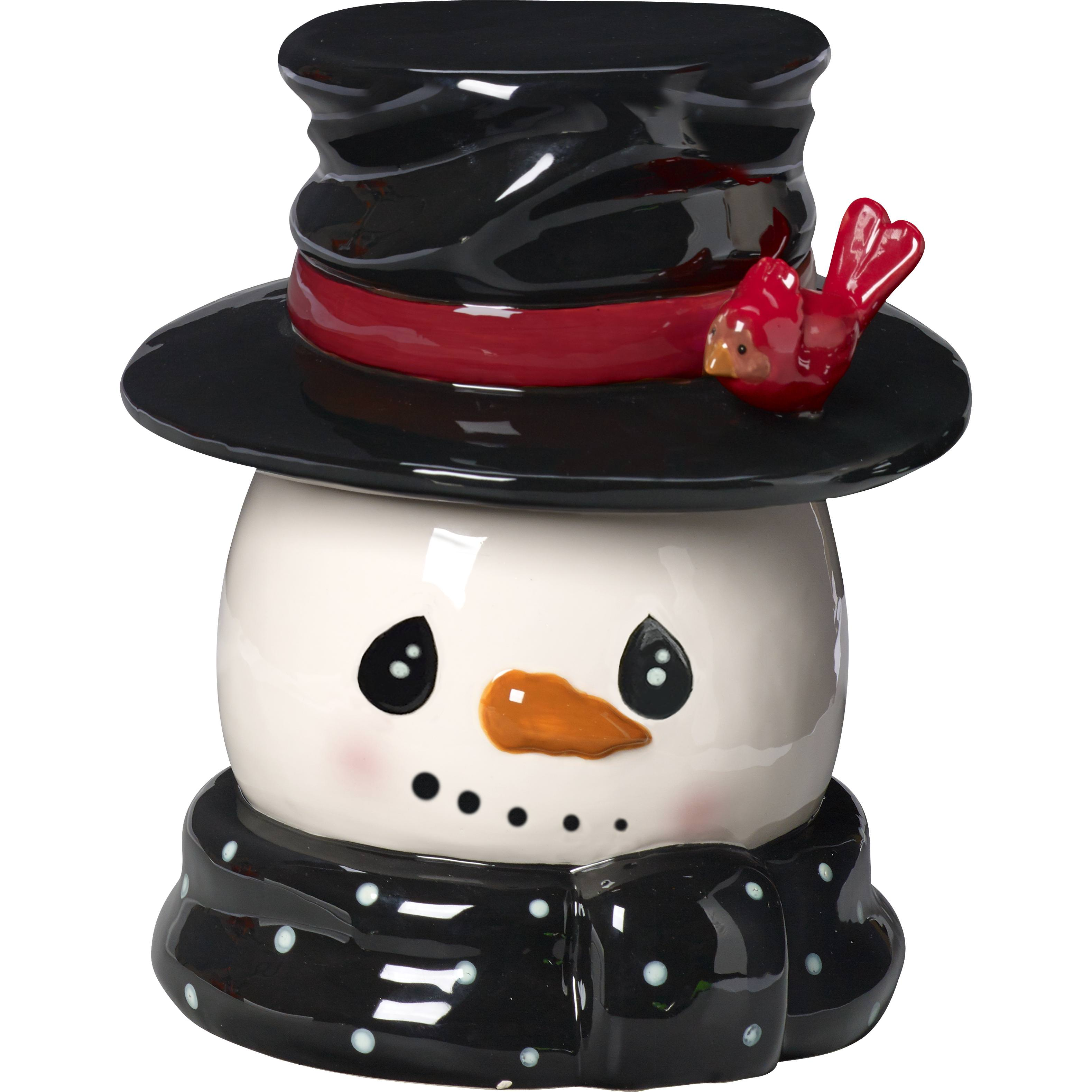 Precious Moments Snow Much Fun Snowman Cookie Jar Ceramic 171471