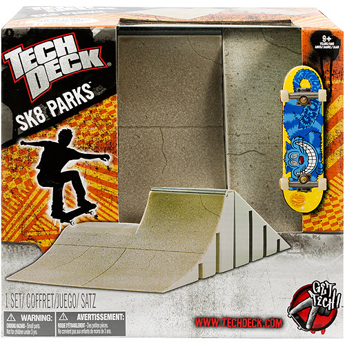 Tech Deck Sk8Parks BiLevel Bank Obstacle