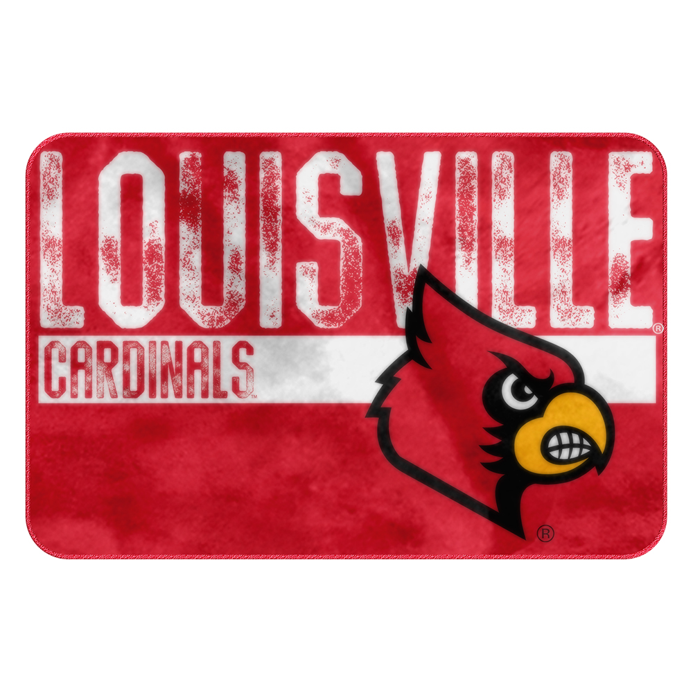 Louisville Cardinals NCAA Bathroom Decorative Foam Rug