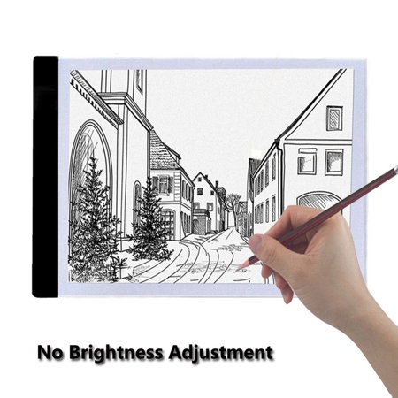 A4 LED Drawing PAD Art Stencil Board Light Box Tracing Drawing Board Pad Table for Catoon, Tattoo tracing, craft projects