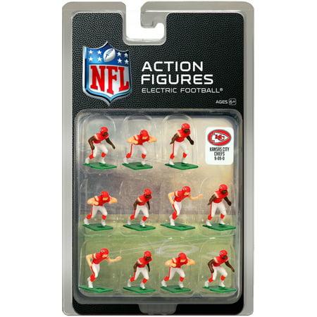 best service f4fa2 e5d93 Kansas City Chiefs Home Uniform NFL Action Figure Set